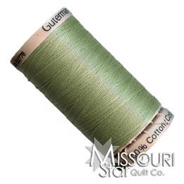 Gutermann 40 WT Cotton Thread Light Green