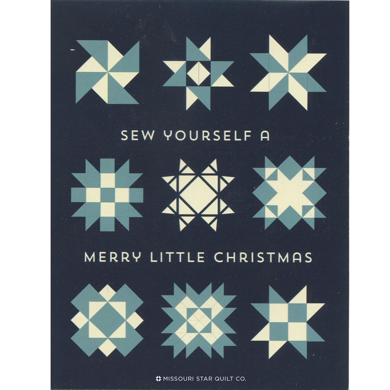 Sew Yourself A Merry Little Christmas Card