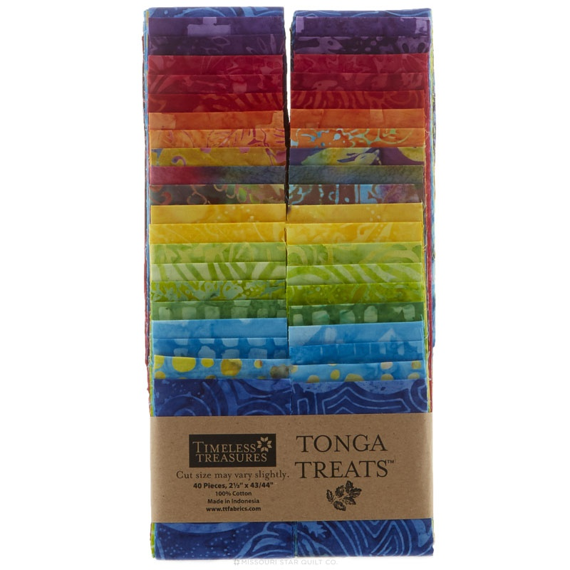 Tonga Treats Batiks - Jelly Bean 2.5