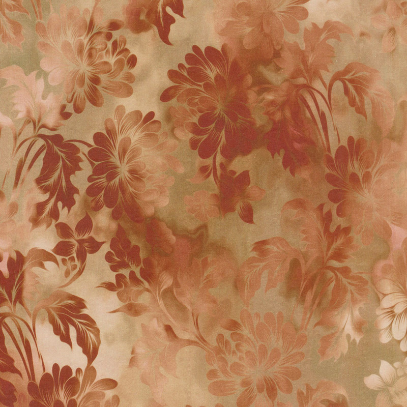 Diaphanous - Daydream Spice Digitally Printed Yardage