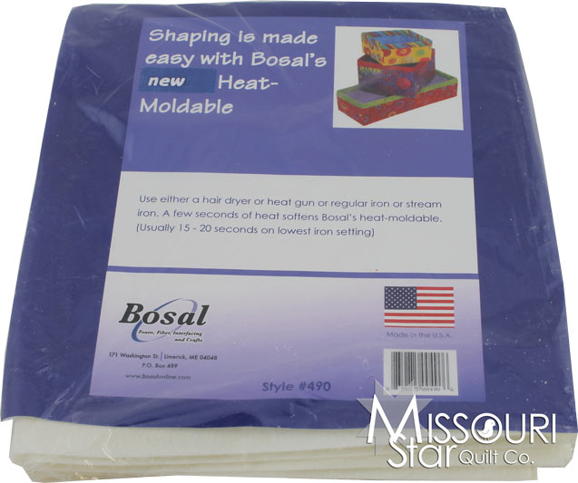 Heat Moldable Stabilizer - 20in x 36in