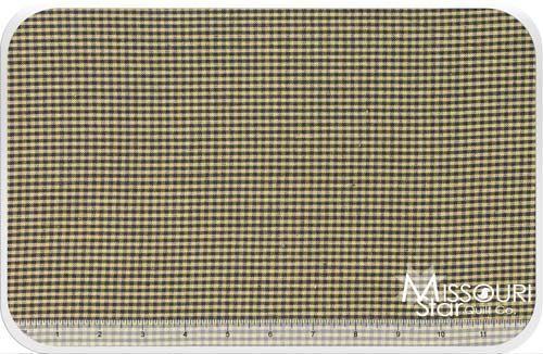 Homespun- Navy/Teadye Mini Check Yardage