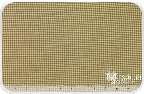 Homespun- Wheat/Cream MiniCheck Yardage