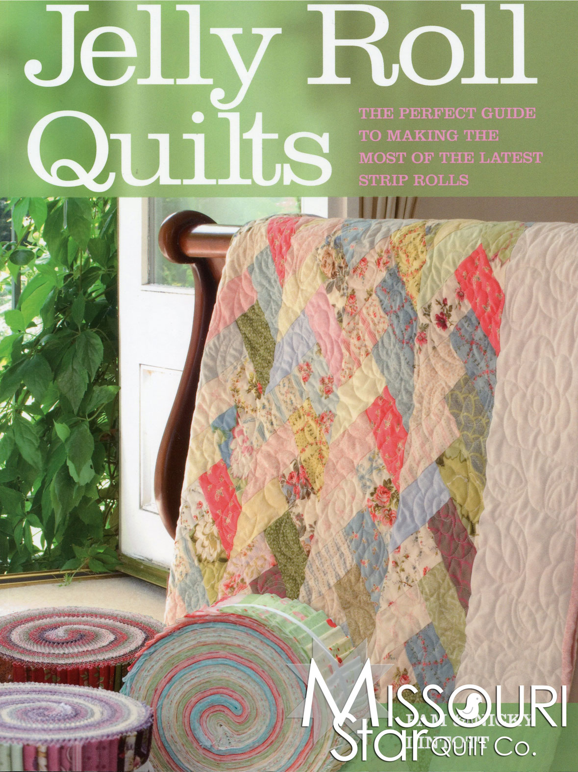 Jelly Roll Quilts Pattern Book Krause Missouri Star