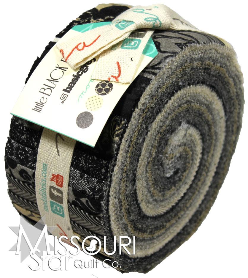 Little Black Dress Jelly Roll Basicgrey Moda Fabrics
