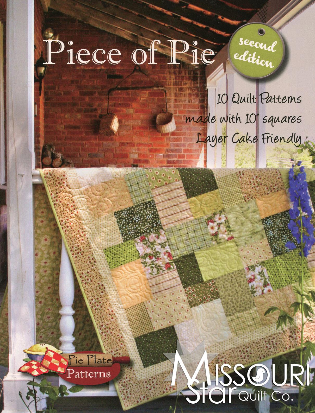 Piece of Pie Pattern Book & Piece of Pie Pattern Book - Pie Plate Patterns \u2014 Missouri Star Quilt Co.