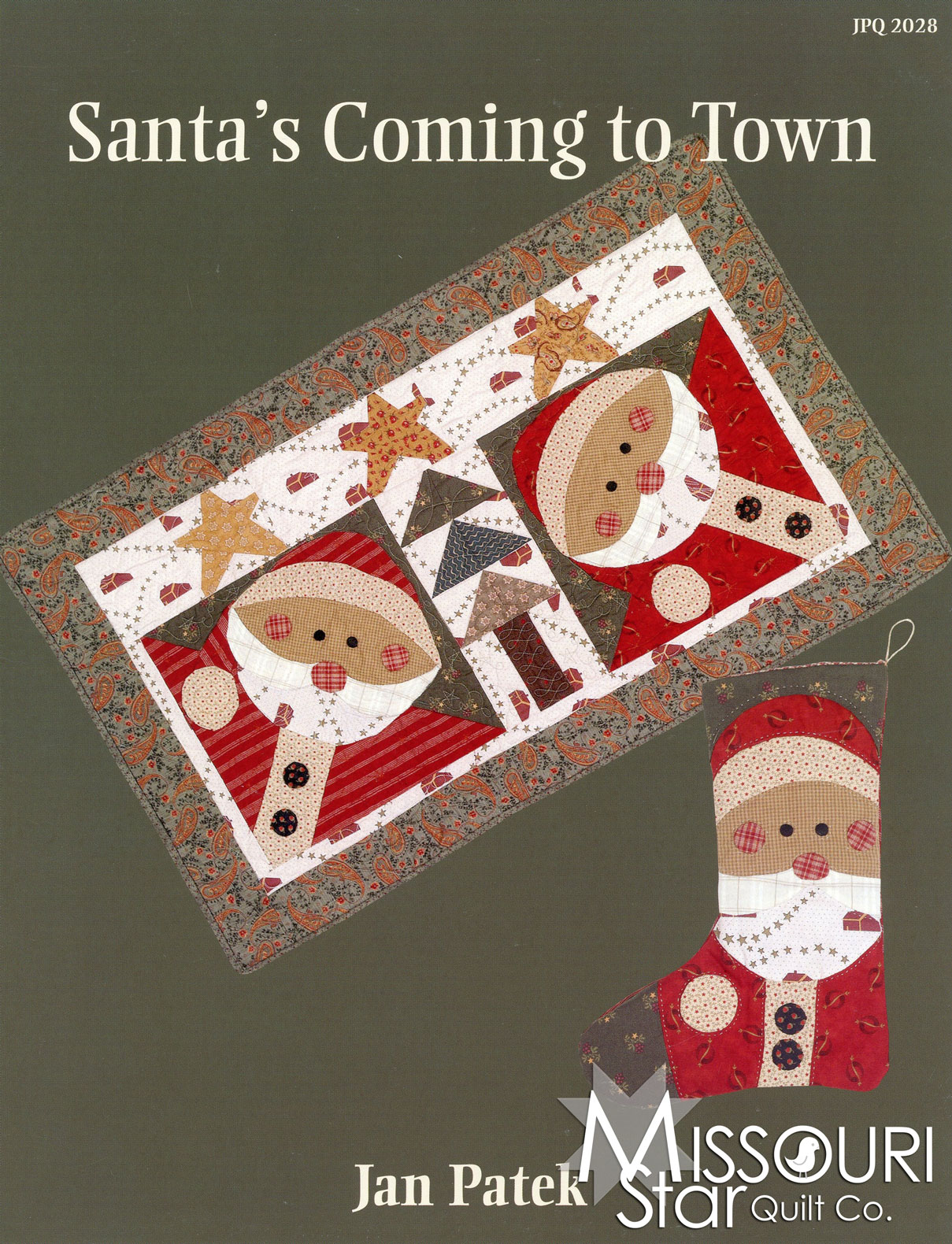 Santa's Coming To Town Pattern