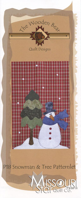 Snowman & Tree Patternlet