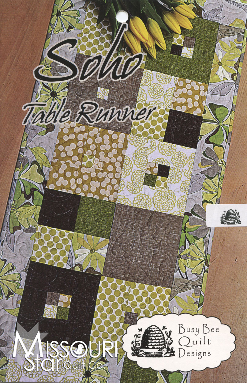 Soho table runner pattern busy bee quilt designs for Table runner quilt design