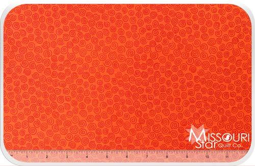 Sunflower Daze - Swirl Orange Yardage