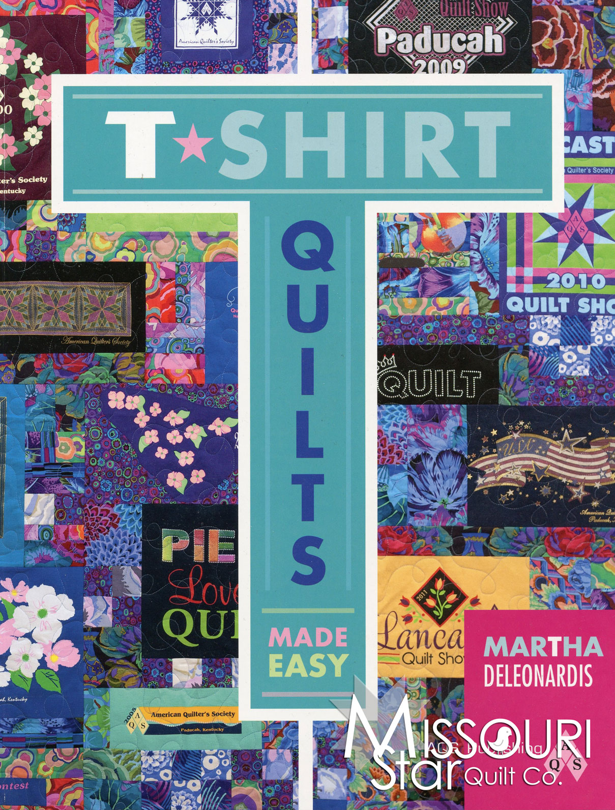 T-Shirt Quilts Made Easy Book - American Quilter's Society ... : quilts made from tee shirts - Adamdwight.com