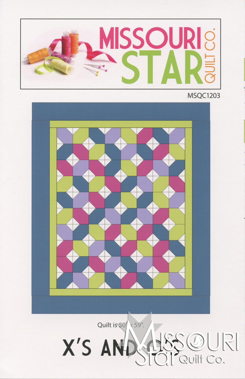 X's And O's Quilt Pattern - MSQC — Missouri Star Quilt Co. : missouri star quilt tutorials - Adamdwight.com