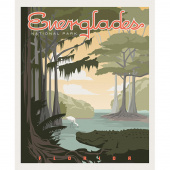 National Parks - Everglades Poster Panel