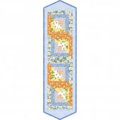 Fresh As A Daisy Log Cabin Table Runner POD Kit