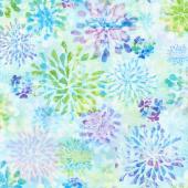 Paper Garden - Transparent Petals Sea Glass Yardage