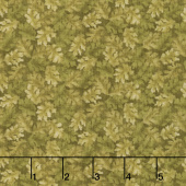 Harvest Berry - Harvest Leaves Green Yardage