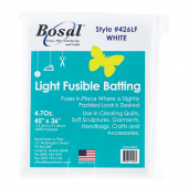 Bosal Single Sided Light Fusible Batting