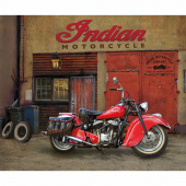 Indian Motorcycle - 1947 Chief Digitally Printed Panel