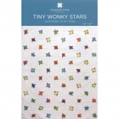 Tiny Wonky Stars Quilt Pattern by Missouri Star