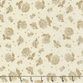 Collection for a Cause - Compassion Tonal Floral Ivory Yardage