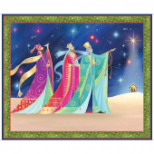 Christ is Born - Three Kings Multi Digitally Printed Panel