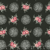 Rosette - Provence Midnight Rose Yardage