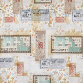 Eclectic Elements - Memoranda Tickets Multi Yardage