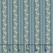 Regency Sussex - Loxhill Circa 1800 Stiffkey Blue Yardage