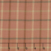 Tickled Pink - Plaid Red Yarn Dye Yardage