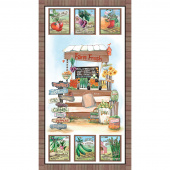 Blissful Bounty - Farm Stand Multi Digitally Printed Panel