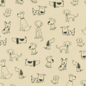 Whiskers & Tails - Dogs Natural Yardage
