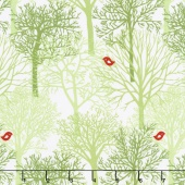 Woodland Winter - Woodland Winter Holly Yardage