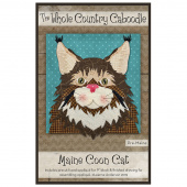 Maine Coon Cat Precut Fused Appliqué Pack