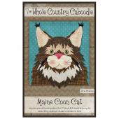 Maine Coon Cat Precut Fused Appliqué Pack