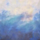Sky - Ombre Evening Digitally Printed Yardage