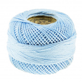 Presencia Perle Cotton Thread Size 8 Pale Delft Blue
