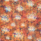 Venice - Flowers Amber Digitally Printed Yardage