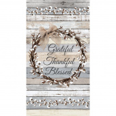 Cotton Blossom - Grateful Multi Panel