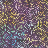 Tonga Batiks - Dragonfly Seashell Carnival Yardage