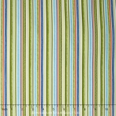 Road Trip - Stripe Green Yardage