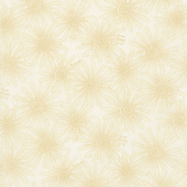 Plant Kindness - Flower Allover Cream Yardage
