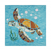 Sea Turtle Sewquatic Laser Cut Kit