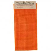 Weeks Dye Works Hand Over Dyed Wool Fat Quarter - Glen Plaid Pumpkin
