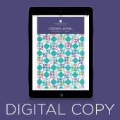 Digital Download - Crown Jewel Quilt Pattern by Missouri Star