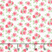 Love Letters - Mini Roses Rose Yardage