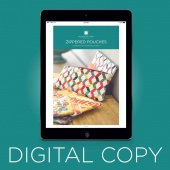 Digital Download - Zippered Pouches Quilt Pattern by Missouri Star
