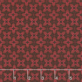 Baltimore House - Sewing Circle Red Yardage