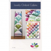 Lovely Ombre Cabins Pattern