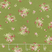 Sensibility - Tiny Bouquets Green Yardage