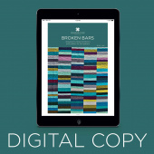 Digital Download - Broken Bars Pattern by Missouri Star